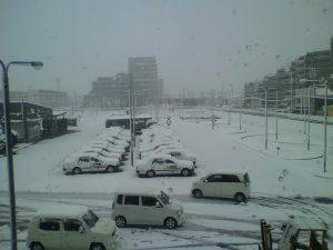 雪の影響について 2月2日(金)